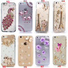 Custom-made Glitter Jewelled Bling Crystal Diamonds Soft Phone back Case Cover n