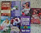 # 8 - 7 CATHERINE COULTER HISTORICAL ROMANCE BOOKS NO DOUBLES FREE SHIPPING