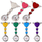 Colored Nurse Watch Brooch Tunic Fob Watch With Free Battery Doctor Medical UK