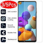 For Samsung Galaxy A21S A51 A71 A30 A40 A50 A70 Tempered Glass Screen Protector