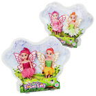 Set of 2 Dolls Flower Fairy Toys Magical Girl Play Fairies Party Gift Princess