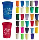 22oz Personalized custom stadium cups wedding favor plastic cups beer party - L2