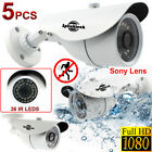 ALL-IN-ONE 1080P HD AHD/TVI/CVI/CVBS Security SPY CCTV Bullet IR Camera Outdoor