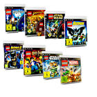 PS3 Lego Spiel Lego Batman Lego Marvel Super Heroes Lego Star Wars Harry Potter