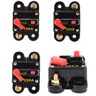 100-300A Car Inline Manual Reset Circuit Breaker Switch DC 12V 24V US Stock