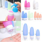 Travel Packing Tubes Silicone Bottle Lotion Shampoo Container Press Bottle MSYG