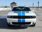 Rally Winged Racing MoPar Stripes Hood Graphic Vinyl Decal 2017 2018 Challenger