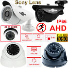 Waterproof 1080P Sony CCTV Security SPY Bullet Dome Camera 2.4MP HD Night Vision