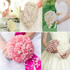 Fishing Line Artificial Pearl Beads Chain Flowers For Wedding Bridal Bouquet 60m