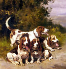 Hunting Dogs ~ Counted Cross Stitch Pattern