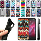For Motorola Moto Z2 Force 2nd Gen 2017 Chevron TPU SILICONE Case Cover + Pen