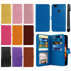 For ZTE Blade X Z965 Flip Card Holder Wallet Cover Case Wrist Strap + Pen