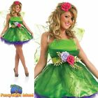 Fairy Nymph Tinkerbell Woodland Fairytale Adult Womens Fancy Dress Costume