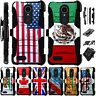 For LG K30 / K10 2018/ K10 Plus / Alpha / X4 / LM Holster Case Cover LuxGuard D4