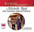The Greek's Forced Bride (Unabridged Audiobook) by narrated by Jenny Sterlin, Mi