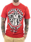 Mafia & Crime T-Shirt Never Fear 428 rot Neu Männer T-Shirt