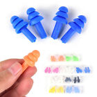 2Pair Soft Silicone Ear Plugs Anti Noise Hearing Protection Earplugs With Box ES