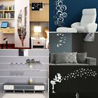 3D Acrylic Modern Mirror Decal Art Mural Wall Sticker Home Decor Removable New