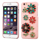 Flowers Crystal 3D Diamante Protector Cover for APPLE iPhone 6s Plus/6 Plus