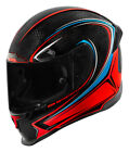 Icon Airframe Pro Halo Carbon Full Face Helmet Carbon Glory/Red/Black