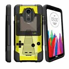 For LG Stylo 4 and LG Stylus 4 Shockproof Dual Bumper Case -Retro