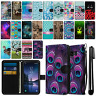 """For Samsung Galaxy S8 ACTIVE G892A 5.8"""" Ultra Slim Wallet Pouch Case Cover + Pen"""