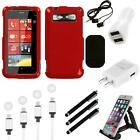 For HTC Trophy T8686 Rigid Plastic Hard Snap-On Case Phone Cover Charger
