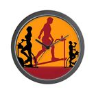 CafePress - Gym Exercise Fitness - Unique Decorative 10 Wall Clock