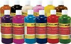 Non-toxic Easy to Wash Tempera Paint Set 16oz (Pack of 12) BEST SELLER