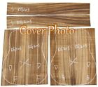 Air-dried Solid Acacia Koa Board For Making Guitar, Front Side & Back KG201-206