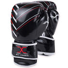 Boxing Gloves MAYA Leather Punch Fight Gym Training MMA Muay Thai Sparring Mitts