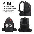 Double Shoulder Bag Storage Box Cases Bacpack For DJI Goggles MAVIC Spark Drone