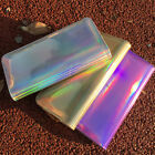 Fashion Women Leather Wallet Hologram Color Clutch Wallets And Purses Leather