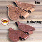 HILASON REPLACEMENT FLORAL SHORT FENDERS TREELESS WESTERN SADDLE YOUTH