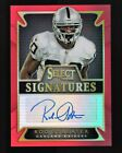 2014 Select Signatures Prizm Red #68 Rod Streater Autograph Auto 12/50 BILLS