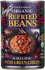 Amy'S Organic Refried Beans With Green Chiles 15.4 Oz. Bu...