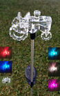 Color Changing Solar Powered Yard / Lawn / Stake Garden Pathway LED Light