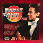 JOHNNY CASH Ring Of Fire 1970s UK  Vinyl LP EXCELLENT CONDITION