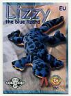 Ty S2 Silver Retired LIZZY EU Europe Beanie Baby Card Series II-2