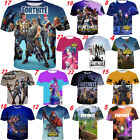 tee 3d - New 3D T-Shirt Fortnite Best Video Game Men Women Print Fashion Cool Funny Tee