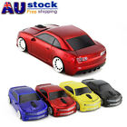 2.4Ghz Wireless Chevrolet Car Optical USB Mouse PC Laptop Mice LED Gift Red AU