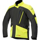 Alpinestars Volcano Black Neon Yellow Textile Motorcycle Jacket RRP £169.99!!