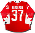 PATRICE BERGERON 2016 TEAM CANADA NEW PREMIER JERSEY ADIDAS WORLD CUP OF HOCKEY