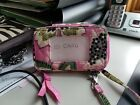 Vera Bradlley ID window Wristlet - Pink Floral