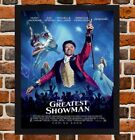 Framed The Greatest Showman Film Poster A4 / A3 Size In Black / White Frame