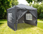 2.5x2.5m Outdoor Pop Up Gazebo Garden Party Marquee Tent with 4 Leg Weights Bags