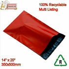 RED Mailing Bags Poly Postal Packing 14
