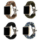 Nylon Rope Replacement Watch Band Strap For Apple Watch iWatch 3/2/1 38mm/42mm