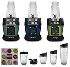 Nutri Ninja BL487 Auto iQ 1100W Personal Blender + Smooth Boost, Choice of Color