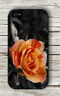 FLOWER ROSE ORANGE CLOSE UP CASE FOR iPHONE 4 5 5C 6 -dtr5X